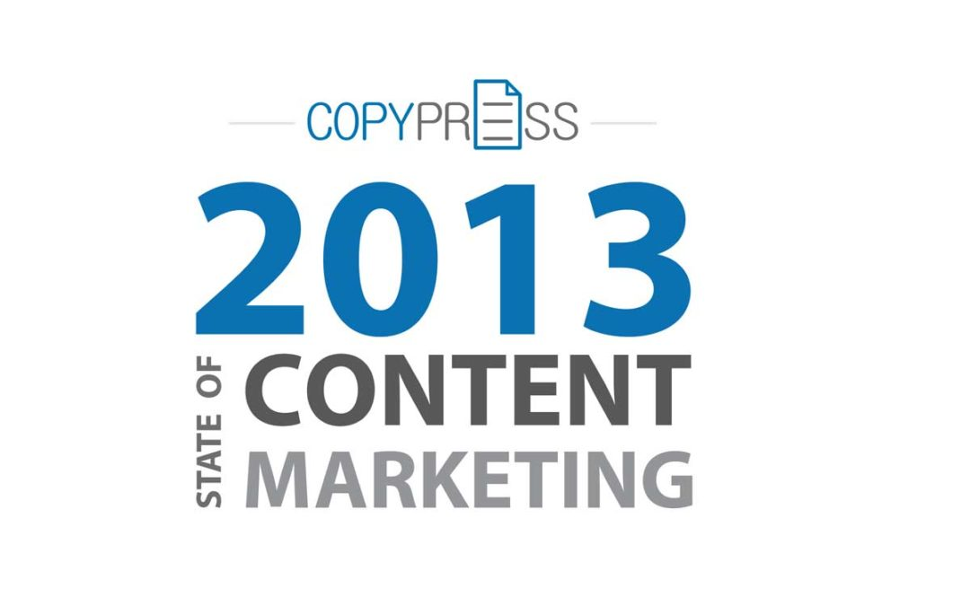 2013 State of Content Marketing Study Full White Paper