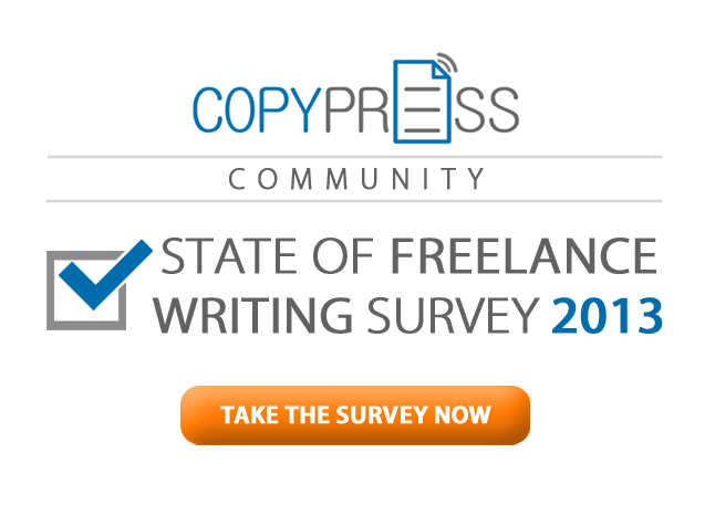 CopyPress Community Launches State of Freelance Writing Survey