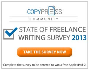 Initial Findings from the 2013: State of Freelance Writing Survey