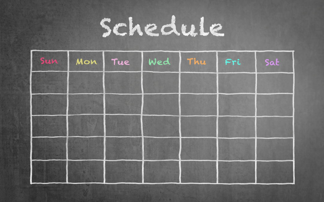 7 Best Practices to Creating a Killer Content Schedule