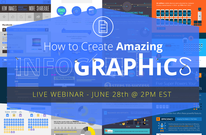 Webinar Upcoming: How to Create Amazing Infographics