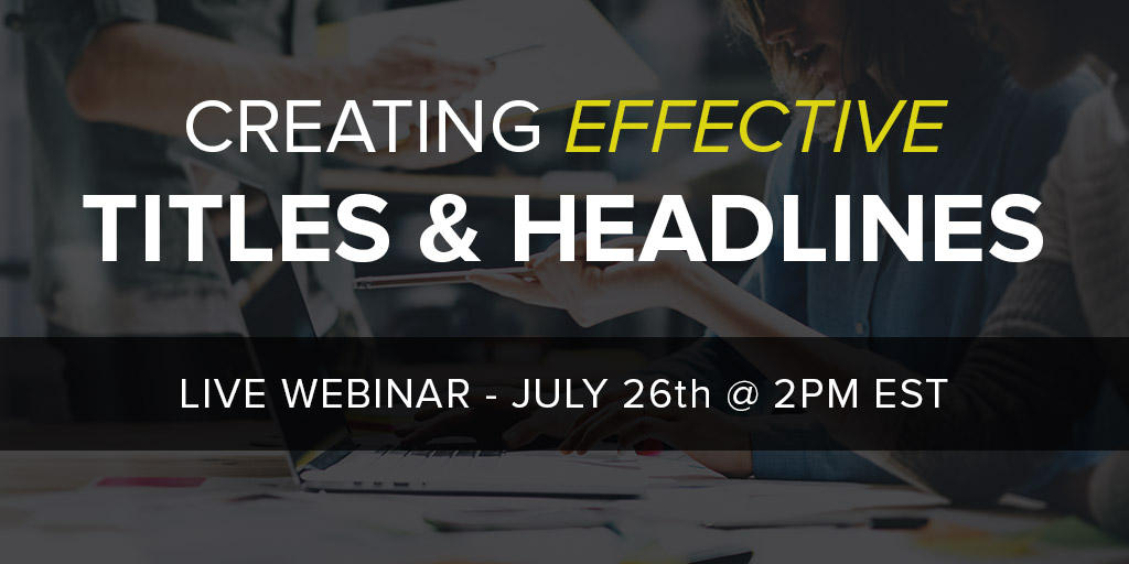 Webinar Upcoming: One Day Left To Sign Up