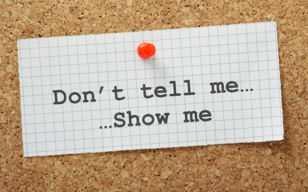 """Creative Spotlight: How to Use the """"Show, Don't Tell"""" Concept to Enliven Your Writing"""