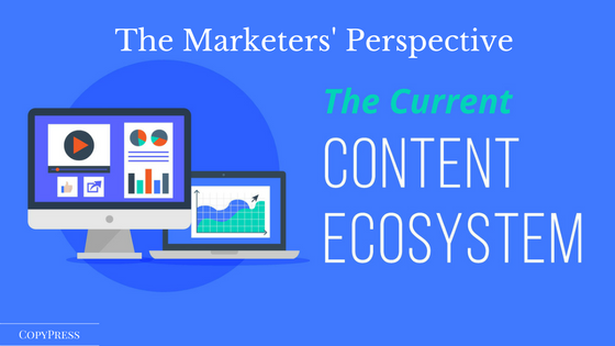 The Marketers' Perspective on the Content Marketing Ecosystem