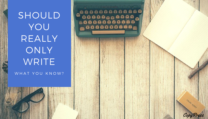 Creative Spotlight: Should You Really Only Write What You Know?
