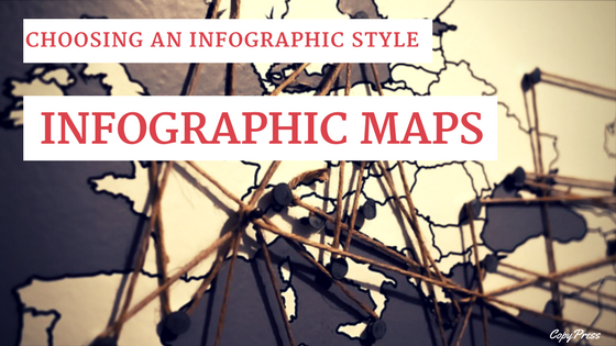 Choosing an Infographic style: Infographic Maps
