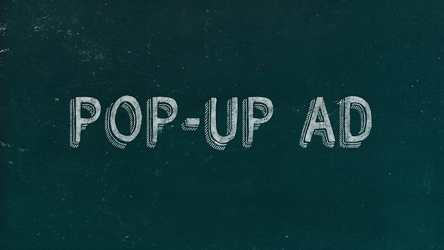 pop-up ad graphic