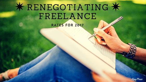 Renegotiating Freelance Rates for 2017