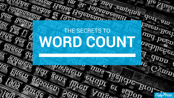 The Secrets to Word Count