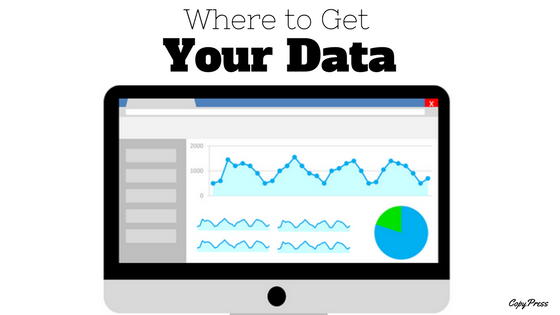 Where to Get Your Data