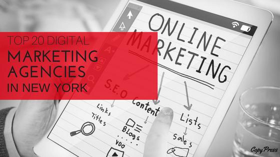 Top 20 Digital Marketing Agencies in New York