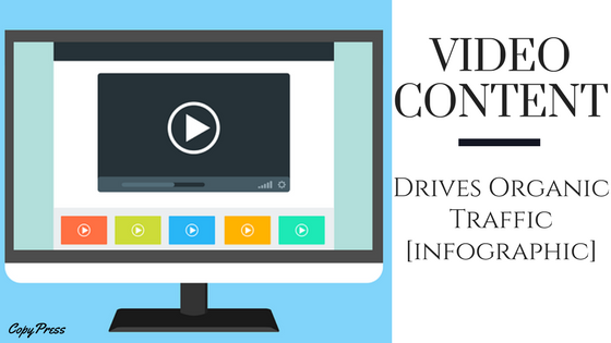 Video Content Drives Organic Traffic [Infographic]