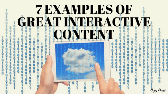 7 Examples of Great Interactive Content