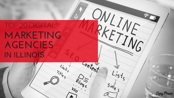 Tablet with Online Marketing - Top 20 Digital Marketing Agencies in Illinos
