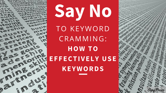 Say No to Keyword Cramming: How to Effectively Use Keywords