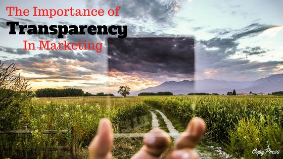 The Importance of Transparency in Marketing