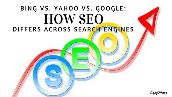 Bing Vs. Yahoo Vs. Google: How SEO Differs Across Search Engines