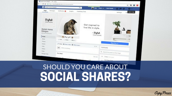 Should You Care About Social Shares?