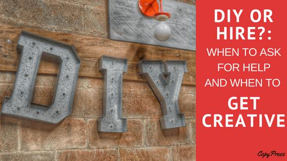 DIY metal letters
