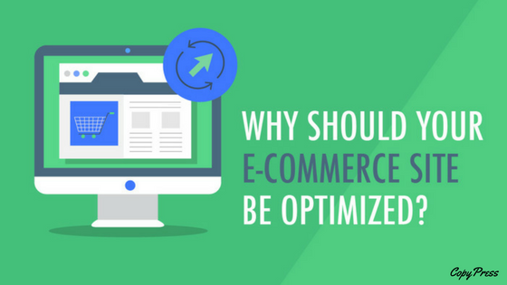 e-commerce optimized website