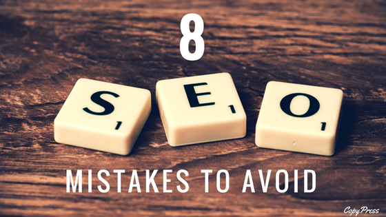 8 SEO Mistakes to Avoid
