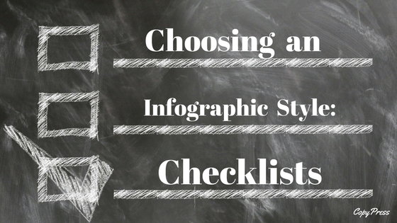 Choosing an Infographic Style: Checklists
