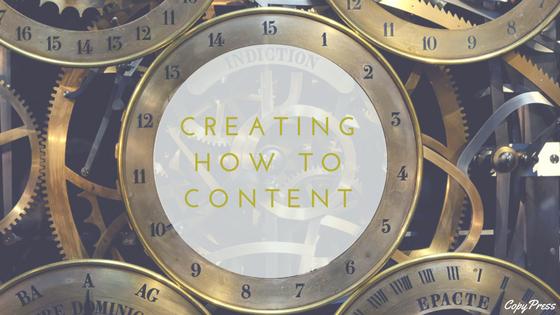 Creating How-To Content