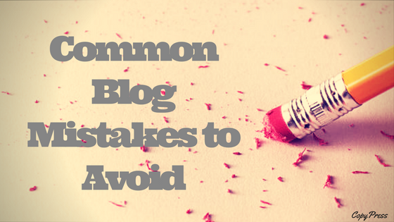 Common Blog Mistakes to Avoid
