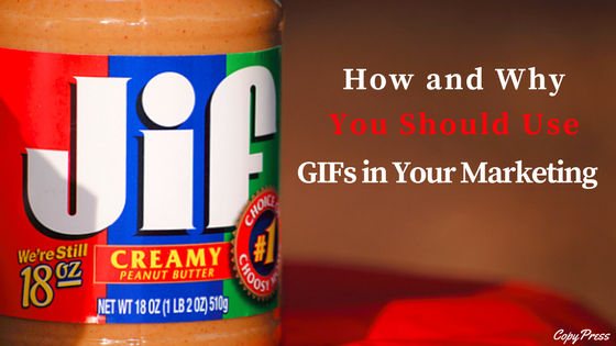 How and Why You Should Use GIFs in Your Marketing