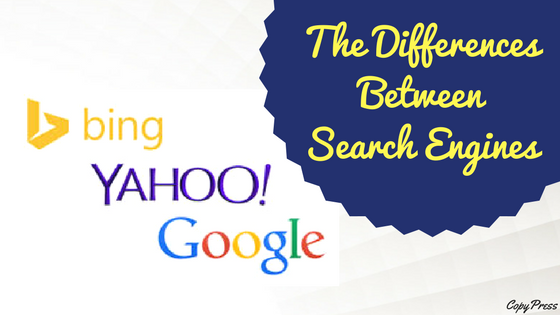 The Differences Between Search Engines