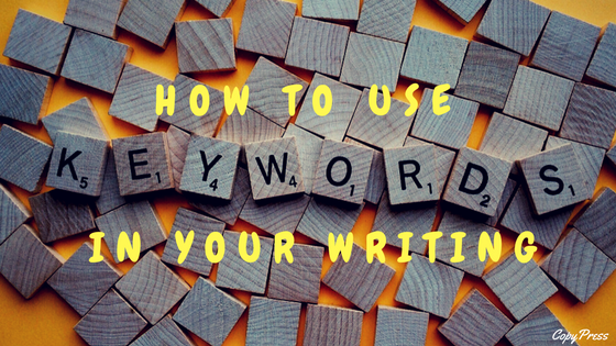 How to Use Keywords in Your Writing