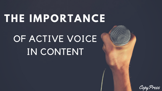 The Importance of Active Voice in Content