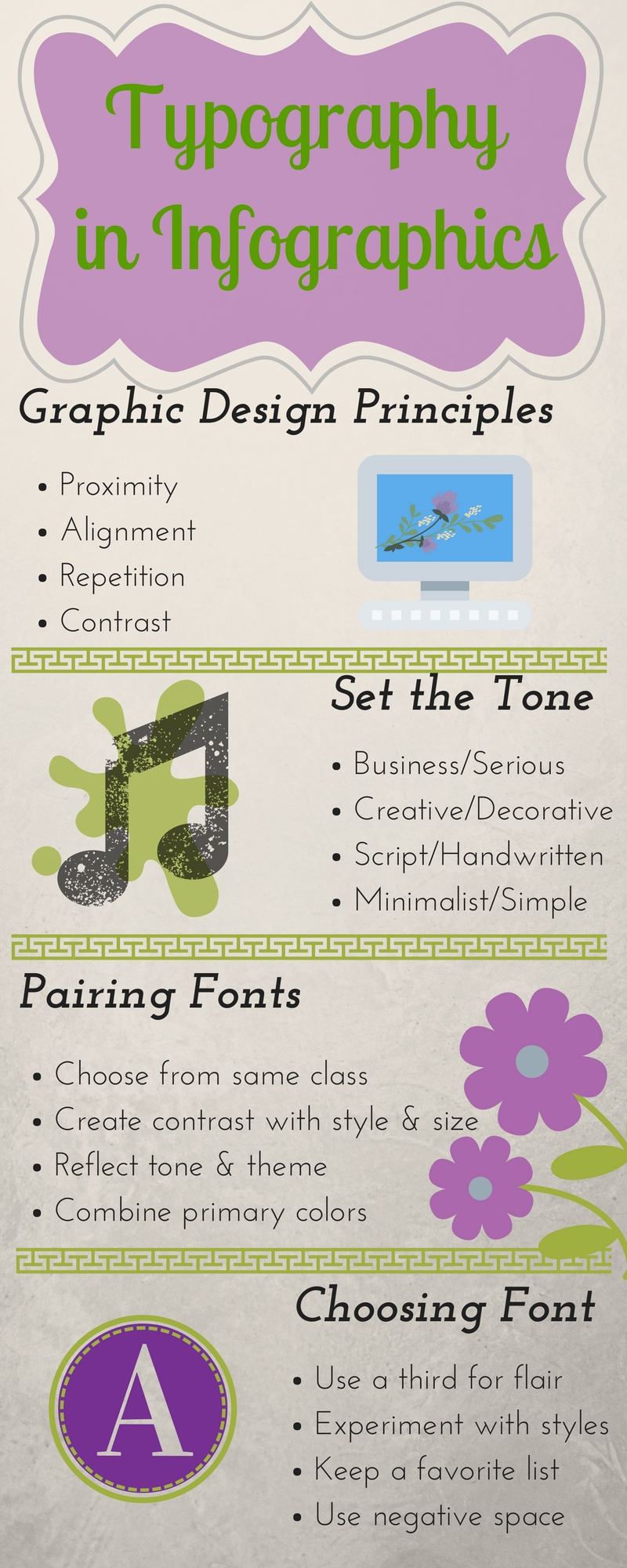 Great fonts for infographics.