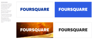 Example of logo usage in a brand style guide