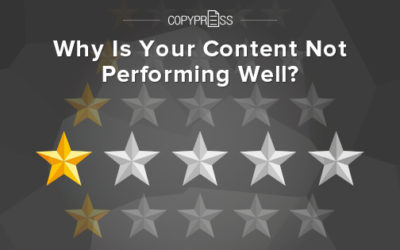 Why Is Your Content Not Performing Well?