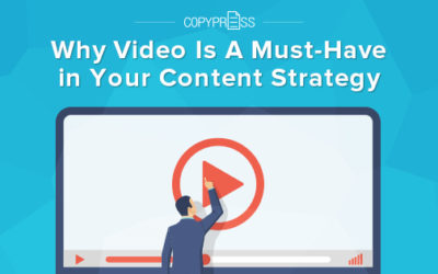 Why Video Is A Must-Have in Your Content Strategy