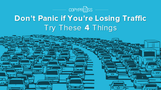 If you're losing traffic, here might be why