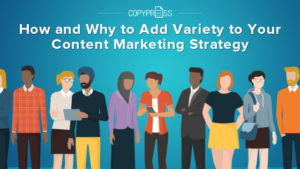 Learn how to diversify your content marketing strategy.