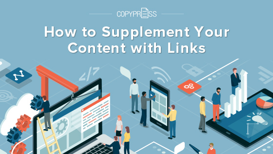 How to Supplement Your Content with Links