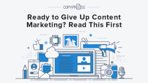 Are you frustrated with content marketing?