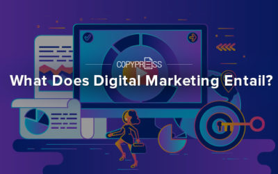 What Does Digital Marketing Entail?