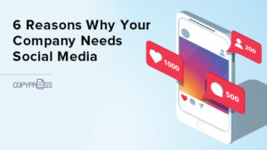 Is your company on social media?