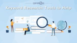 Tools to help with keyword research.