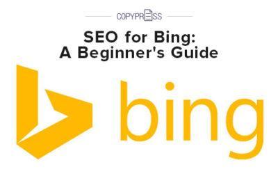 SEO for Bing: A Beginner's Guide
