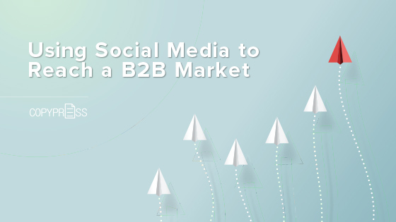 Learn how social media can target your B2B target market.