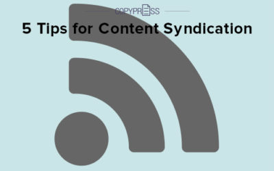 5 Tips for Content Syndication
