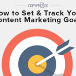 Set and track your content goals.