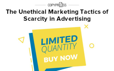 The Unethical Marketing Tactics of Scarcity in Advertising