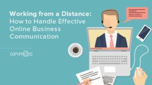 Online business communication