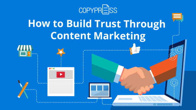 How to build trust using content marketing